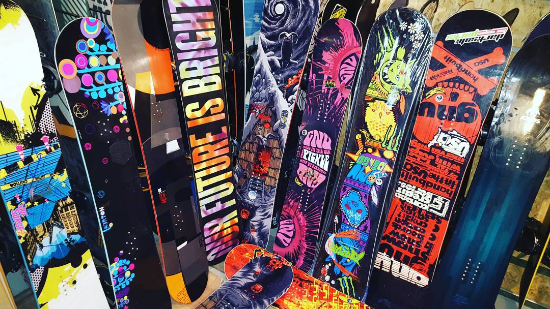сноуборды напрокат в Харькове