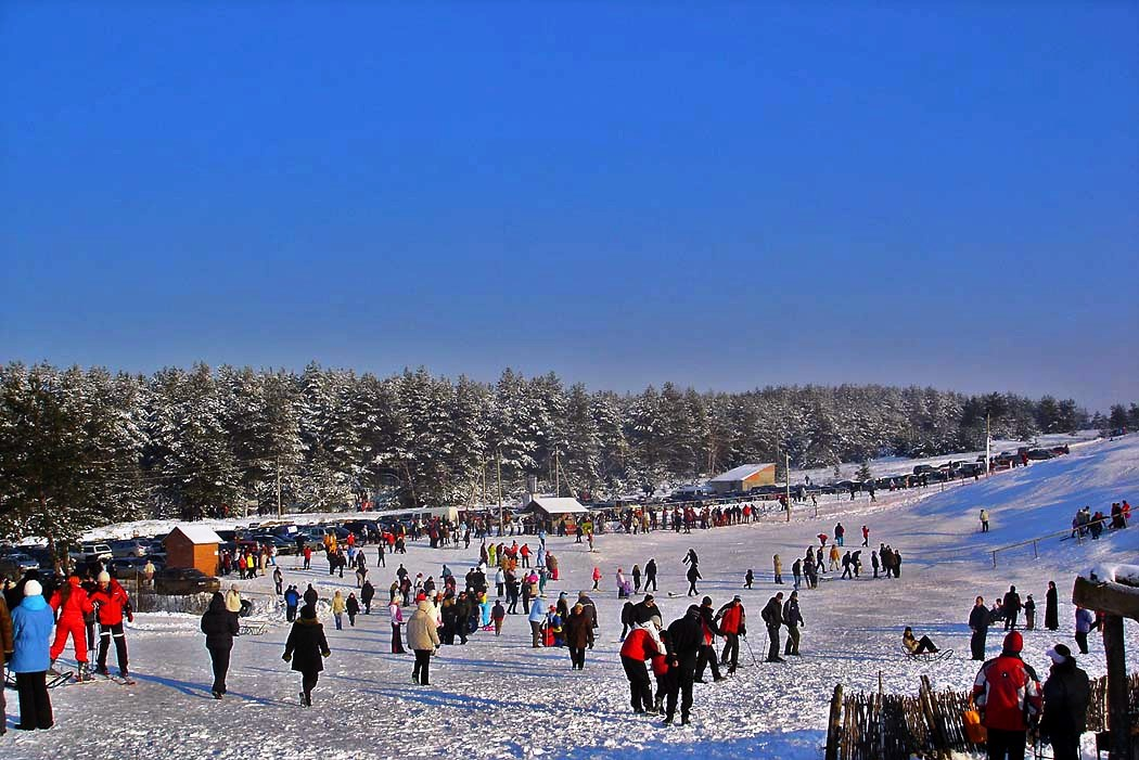 Альпийская долина - горнолыжный центр в Харькове